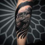 blacktattoo realismo preto cinza cayo farias dark águia